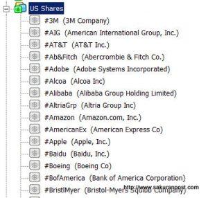 アメリカ株式