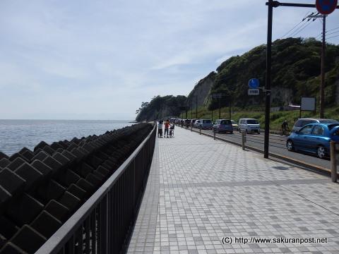舗装された安全な歩道