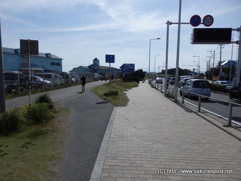 鵠沼海浜公園とサイクリングロード