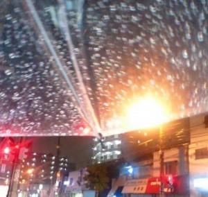 タクシーと天気の関係