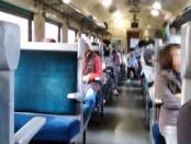 SL鉄道車内